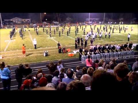 Prescott High School Colorguard Homecoming Performance 2012.wmv