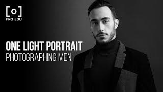 One Light Portrait Setup with Jeff Rojas