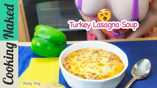 Turkey Lasagna Soup Recipe Preview | How To Make