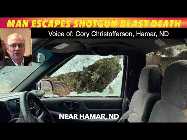 $10,000 REWARD: North Dakota Man Survives Shotgun Blast Without Injury