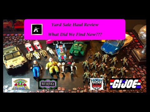 Yard Sale Haul Review! What Vintage Toys Did We Find Now???