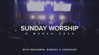 Live Worship with Benjamin Jackson, Gabriel Maxwell & Jonathan Clarke (8 Mar 2020)