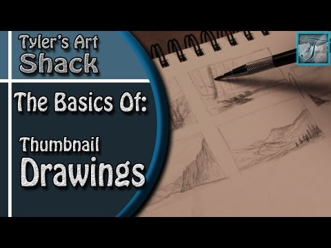 The Basics of Thumbnailing your Drawings