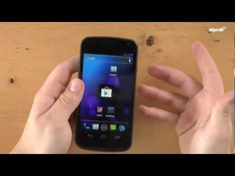 Samsung Galaxy Nexus - Unboxing & Review (deutsch)