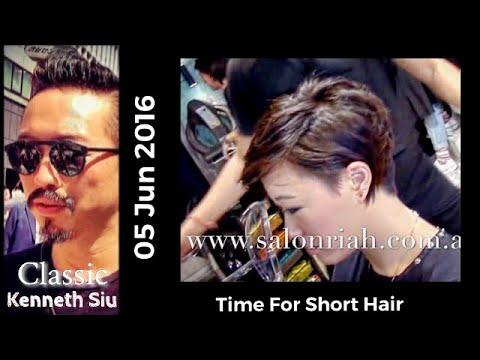 Kenneth Siu's Haircut - Trendy Short Hair