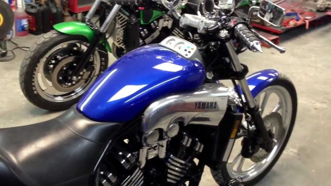 1988 Yamaha Vmax trike Stage 7 jet custom exhaust built by ...