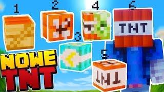 MINECRAFT KOMENDY | 6 NOWYCH TNT W MINECRAFT!