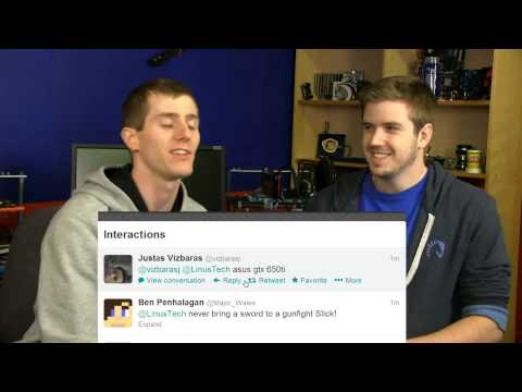 Linus Tech Tips Live Show Archive - February 8, 2013