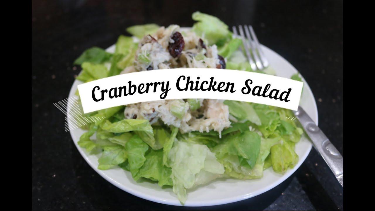 Cranberry Chicken Salad Dip
