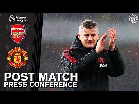Post Match Press Conference | Ole Gunnar Solskjaer | Arsenal 2-0 Manchester United