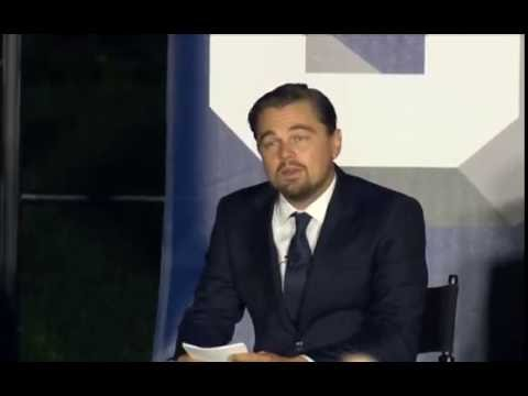 Leonardo DiCaprio  Interview  to President  Barack Obama and Dr Katharine Hayhoe