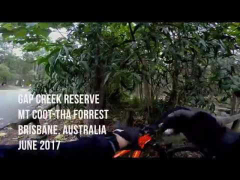 MTB | Gap Creek Reserve | Crebra Climb - Lorrikeet Loop | Mt Coot tha Forrest | 4k