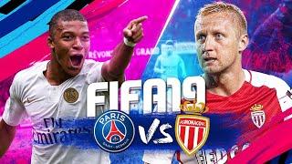 FIFA19 | GAMEPLAY PSG vs MONACO - GAMESCOM !