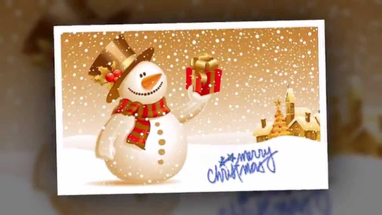 Merry christmas video card greeting youtube merry christmas video card greeting kristyandbryce Choice Image