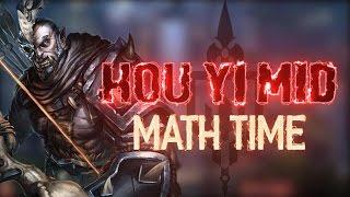 HOU YI MID: TEACHING SMITE MATH - Incon -Smite