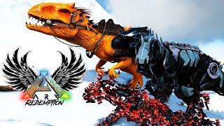 Бионические ГИГА И РЕКС - ARK Survival Evolved - Redemption #12