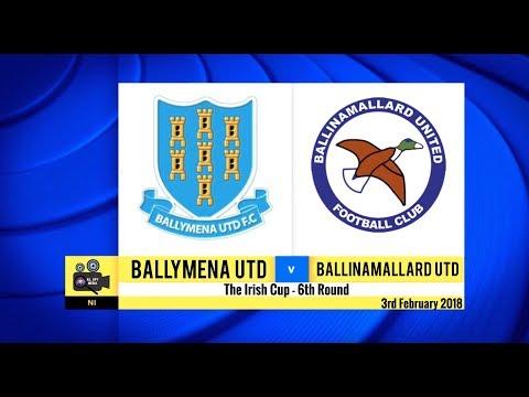 Ballymena Utd Vs Ballinamallard Utd - 3rd February 2018