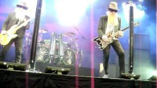 ZZ TOP - Hey Joe (Jimi Hendrix) (Stockholm) 2010!