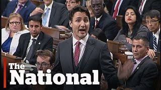 Justin Trudeau accused of