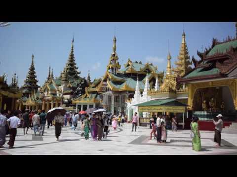 Shwedagon Temple, Yangon, Myanmar