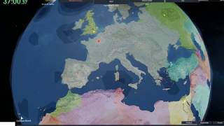Forming the European Union in 40 Minutes! - Rise of Nations (ROBLOX)