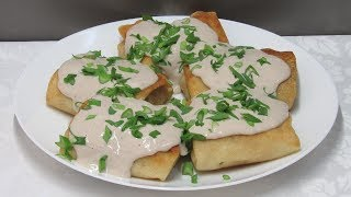Новинка!!! Блины с картошкой под волшебным соусом. Просто ОБЪЕДЕНИЕ!!!