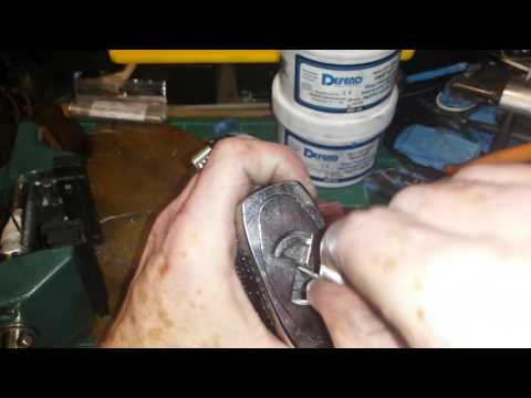 270S woods metal key cast demo lock opened and gutted