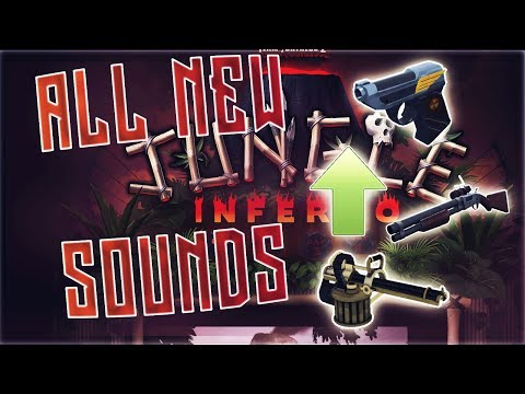 TF2: All NEW UPDATED SOUNDS After The Jungle Inferno Update! Before & After! (SO MUCH BETTER!)