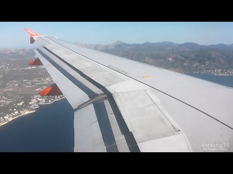 Easyjet EZY7423 London Southend (SEN) - Palma De Mallorca (PMI) *FULL FLIGHT* Airbus A319 G-EZAK