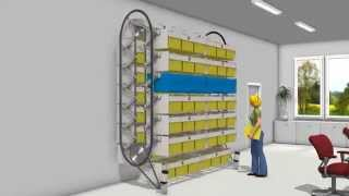 Isda: Office Vertical Carousels