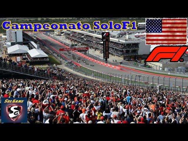 🔴 F1 2019 - Retransmision SoloF1 // Gp Ee.Uu 18-21