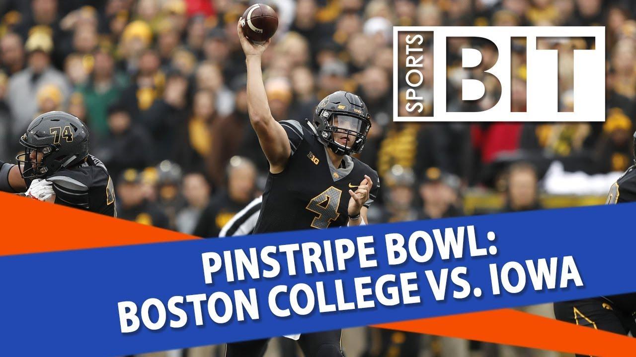Image result for Iowa vs Boston College live pic logo