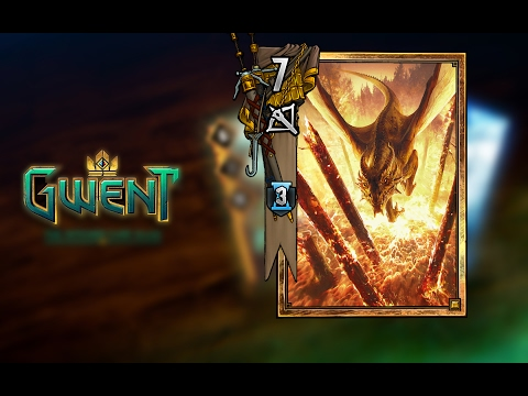 Gwent: The Witcher Card Game- Villentretenmerth In Action