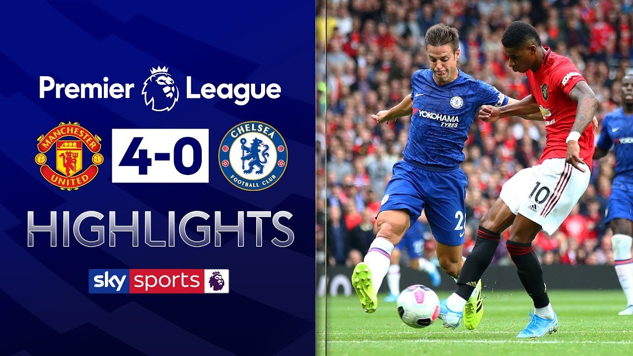 HIGHLIGHTS | Manchester United 4-0 Chelsea | Premier League | 11th August 2019 image
