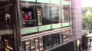 NYタイムワーナーセンター2Fからの眺め( ´ ▽ ` )ノ神田ホイ世界の旅