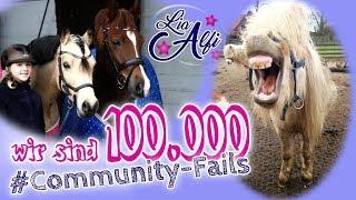Lia & Alfi -  ** 100k ** Mega Community Fail Compilation Part 1