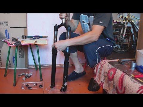 Горный велосипед - Ремонт. ТО вилки rock shox xc 32 tk solo qr 29 manual