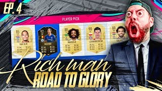 FUT DRAFT MEGA RAGE COMPILATION - RICH MAN RTG #4 - FIFA 19 Ultimate Team