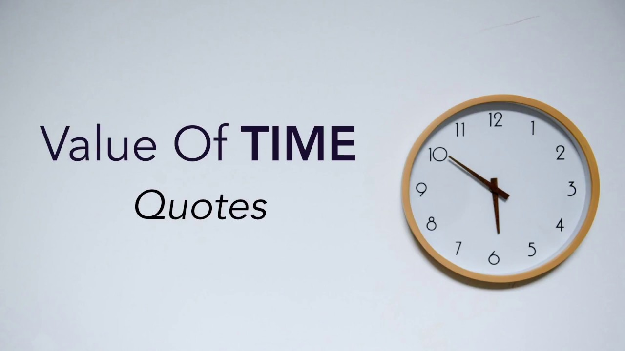 Importance of time essay