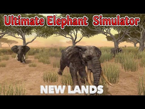 🐘Ultimate Elephant Simulator In African Savanna-By Gluten Free Games-IOS/Google Play