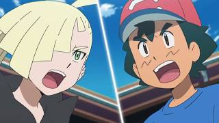 Ash vs Gladion Final Round Pokemon Sun and Moon Episode 139 English Dub