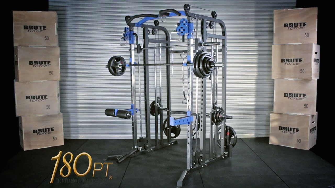 180pt Multi Functional Trainer By Bruteforce