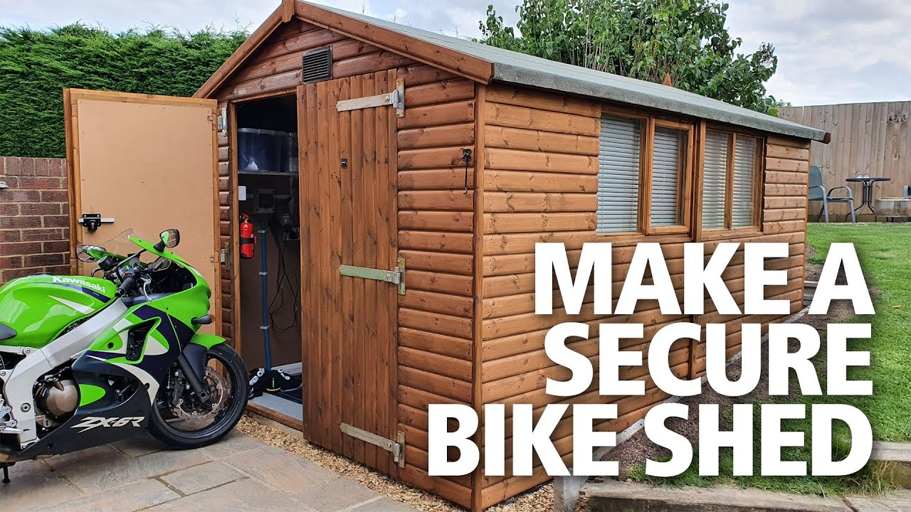 Motorcycle Insurance Definition Of Garaged Sheds Now Included