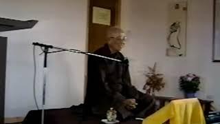 Tam Huệ Học HT Thích Thanh Từ giảng tại Làng Cây Phong Québec Canada 17 9 1994