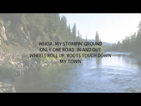 TIM HICKS - STOMPIN' GROUND LYRICS