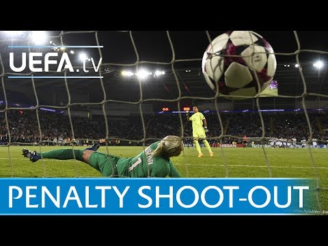 UEFA Women's Champions League final – Lyon v Paris – The full penalty shoot-out