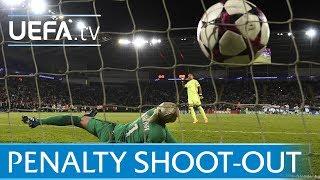 UEFA Women S Champions League Final Lyon V Paris The Full Penalty Shoot Out