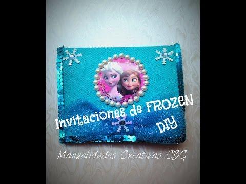 Diy Invitaciones De Frozen Elsa Anna Tul Frozen Invitations