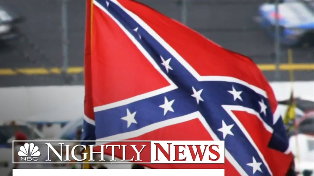 NASCAR bans Confederate flags at racetracks