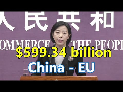 China-EU bilateral trade increased by 30.4% in the first three quarters | 前三季度中国-欧盟双边贸易增长30.4%